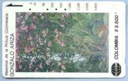 COLOMBIA : COLMT32 $5.500 GONZALO ARIZA Cascada USED - Colombia