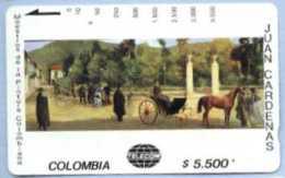 COLOMBIA : COLMT36 $5500  JUAN CARDENAS Parque Santander USED - Colombia