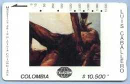 COLOMBIA : COLMT41 $10500 LUIS CABALLERO   1985 USED - Colombia