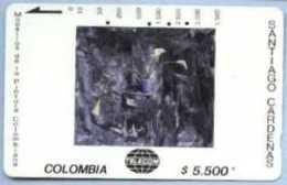 COLOMBIA : COLMT52 $5.500 SANTIAGO CAR 1993 Tres Cartuchos USED - Colombia