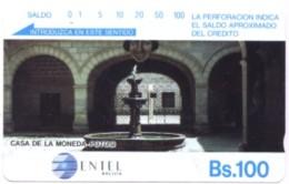 BOLIVIA : BOLTE23 Bs 100 CASA DE LA MONEDA    /B MINT - Bolivia
