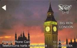 POLAND : G1 10 U BIG BEN London MINT - Poland