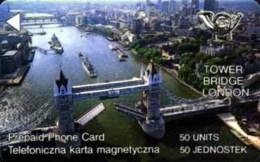 POLAND : G2 50 U Tower Bridge London MINT - Poland