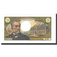 France, 5 Francs, 1968-08-01, KM:146b, SUP+, Fayette:61.8 - 5 F 1966-1970 ''Pasteur''