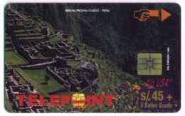 PERU : PTE-040 45+5  Machu 4/4 ALO-USA Corp. USED - Peru