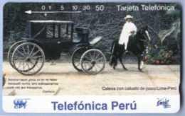 PERU : T41 50 DIC.94/015 Calesa Con Caba USED - Peru