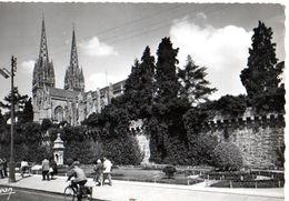 Quimper Les Jardins De L'eveché 1958 CPM Ou CPSM - Quimper