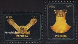 PERU 2017 , ARCHAEOLOGY GOLD JEWELS , MNH - Peru