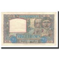 France, 20 Francs, 1939-12-07, KM:92a, SUP, Fayette:12.1 - 1871-1952 Antichi Franchi Circolanti Nel XX Secolo
