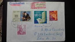 DDR-BRIEF Mit Mi.Nr. 1781,1855,1871,1883 (Jahr, Des Buches, UNO, Erdöl, Mattern) Stempel Karl-Marx-Stadt (7.12.73) - [6] Democratic Republic