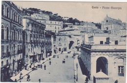 M351 GAETA LATINA PIAZZA MUNICIPIO  ANIMATA 1920 CIRCA - Latina
