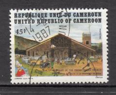 ##21, Cameroun, Cameroon, église Presbytérienne, Presbyterian Church, Voiture, Car - Cameroon (1960-...)