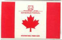 CANADA : CAN32 $20 Phone Line International Canada Flag USED - Canada