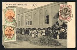 IRAN -Une Armée Kurde - Beau Document --  Voyagée 1924 Avec Timbres Controle 1922-  -Recto Verso - Paypal Sans Frais - Iran