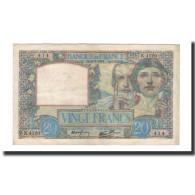 France, 20 Francs, 1941-05-08, KM:92b, TTB+, Fayette:12.14 - 1871-1952 Anciens Francs Circulés Au XXème