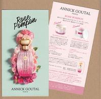 CC Carte Parfumée ANNICK GOUTAL Perfume Card JAPAN - Cartes Parfumées