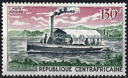 """Central African Republic 1968 - The Boat """"Balla"""" ( Mi 180 - YT Pa 66 ) MNH** - Repubblica Centroafricana"""