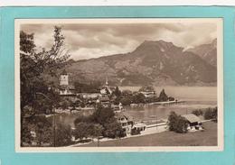 Small Antique Postcard Of Spiez,Lake Thun In The Bernese Oberland, Berne, Switzerland,K60. - BE Berne