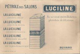 Buvard Luciline - Pétrole Des Salons - Gas, Garage, Oil