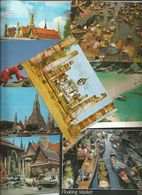 11 CART. THAILAND (831) - 5 - 99 Cartoline