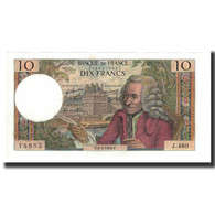 France, 10 Francs, 1969-03-06, KM:147c, SPL, Fayette:62.37 - 1962-1997 ''Francs''