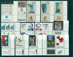 ISRAEL N°1205/6+1211/14+1216/23 Nxxtous  Avec Et Sans Tabs TB. Cote : 42 €. - Collections, Lots & Séries