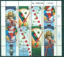 ISRAEL N°1207 / 10 Nxx BF De 2 Séries Avec Et Sans Tabs TB. Cote : 12 €. - Israel