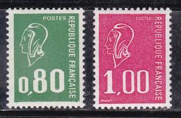 France 1977 N°Y.T. : 1891b Et 1892b (sans Phosphore) ** - Frankreich
