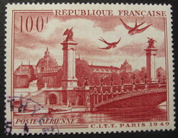 Lot FD/262 - 1949 - POSTE AERIENNE - VUE DE PARIS - N°28 - 1927-1959 Used