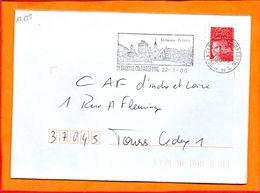 HAUTS DE SEINE, La Garenne Colombes, Flamme SCOTEM N° 17625 - Postmark Collection (Covers)