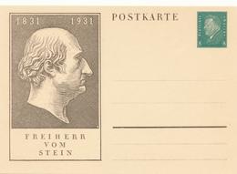 DR / Deutsches Reich   -  1931 , Ebert , Verfassungstag  1831-1931, Freiher Von Stein - Germany