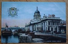 Dublin - Custom House - Colorisée - City Arms / Blason - (n°9794) - Dublin