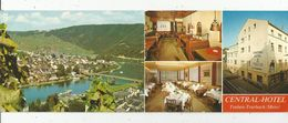 Cp , 4 Pages , CENTRAL HOTEL ,TRABEN - TRARBACH/MOSEL , Vierge , 2 Scans, Allemagne , Rhénanie Palatinat - Hotels & Restaurants