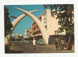 Cp , KENYA ,MOMBASSA ,l'avenue KILINDINI , Automobiles , Vierge , Ed : Big Ben, N° 2 - Kenya