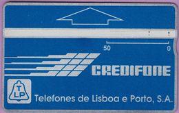 Télécarte Portugal  Holo °° 50 - Credifone Bleu - RV 3297    ***   LUXE - Portugal