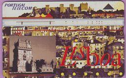 Télécarte Portugal  Holo °° 120 - Lisboa 1994 - Cité Fortifiée -  RV 2858  *  TBE - Portugal