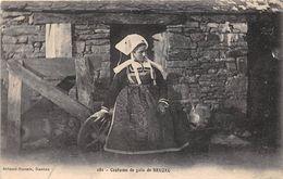 ¤¤  -  BEUZEC   -  Costume De Gala   -  Folklore    -  ¤¤ - Beuzec-Cap-Sizun
