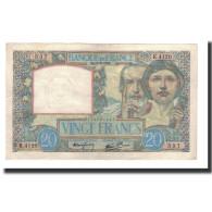 France, 20 Francs, 1941-05-08, KM:92b, SUP, Fayette:12.14 - 1871-1952 Antichi Franchi Circolanti Nel XX Secolo