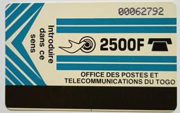 2500 Francs Autelca Light Blue - Togo