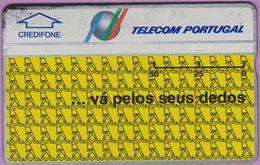 Télécarte Portugal  Holo °° 50 - Va Pelos Seus Dedos - RV 7691.. - Portugal