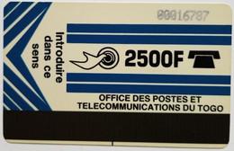 2500 Francs Autelca Dark Blue - Togo