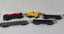 LOT WAGONS JOUEFS - Wagons Marchandises