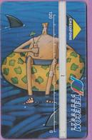Télécarte Portugal  Holo °° 120 - Fauteuil Flottant - 1994 - RV 9885 .. - Portugal
