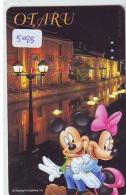 Télécarte Japon * 110-190470 * MICKEY (5098)  OTARU * Voyage N° 13 * Japan Phonecard TELEFONKARTE - Disney