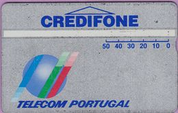 Télécarte Portugal  Holo °° 50 - Credifone Argent - RV - 4822.. - Portugal