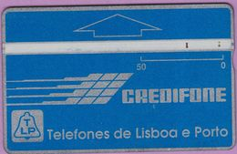 Télécarte Portugal  Holo °° 50 - Credifone Bleu - RV 0542 ° TBE - Portugal