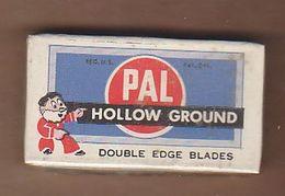 AC -  PAL HOLLOW GROUND RAZOR BLADES IN UNOPENED BOX MADE IN UNITED STATES - Razor Blades
