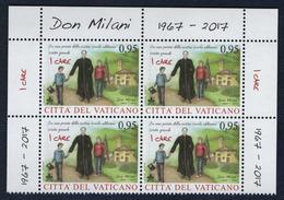 2017 - VATICAN - VATICANO - VATIKAN - S21A - MNH - SET OF 4 STAMPS ** - Unused Stamps