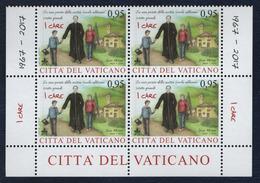 2017 - VATICAN - VATICANO - VATIKAN - S21B - MNH - SET OF 4 STAMPS ** - Unused Stamps