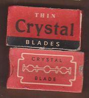 AC -  THIN CRYSTAL BLADES - RAZOR 10 BLADES IN UNOPENED BOX - Razor Blades
